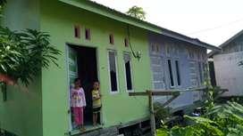 jual rumah kontrakan + tanah kosong