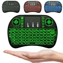 Flying Keyboard Wireless Mini With Touchpad Backlit