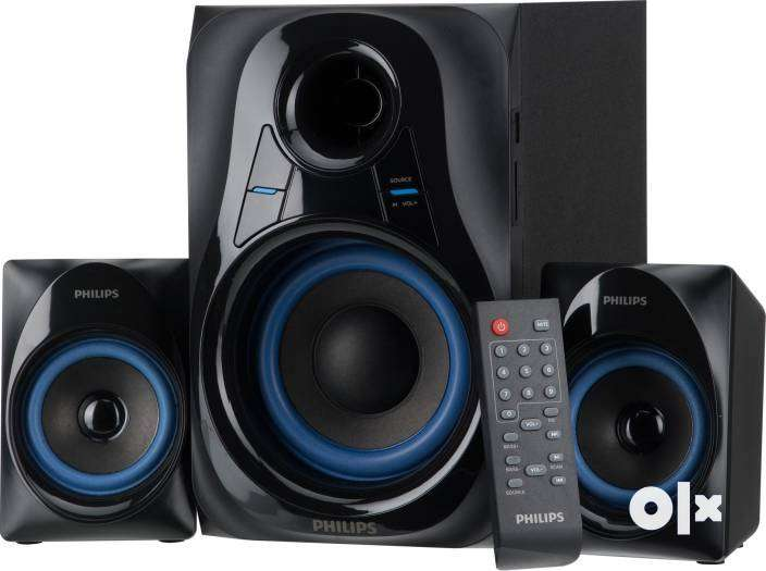 2.1 Speakers Philips MMS2580B/94 2.1 Home Theater System (Blue) 0
