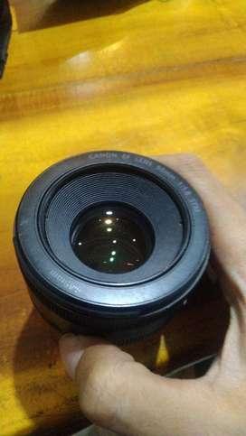 Lensa canon fix 50mm stm