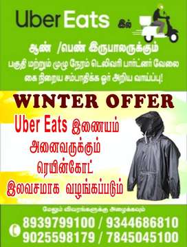UBER EATS - Food delivery boys wanted