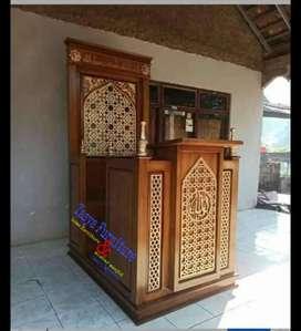 Mimbar masjid jat solid