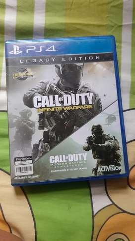 BD call of duty infonity war ps 4