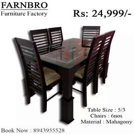 Dinning table up to 10 % 0ffer