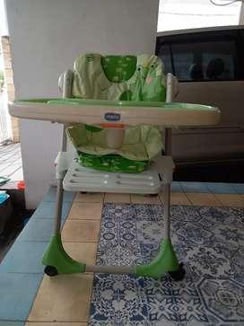 kursi makan bayi chicco