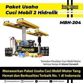 Paket Usaha Cuci Mobil 2 Hidrolik / Mesin Hidrolik Cuci Mobil(MBH-204)