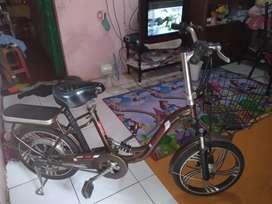 Sepeda listrik Mr.Jackie