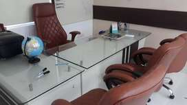 Luxury office space with 2 cabins 8 workstations in vasundhra.