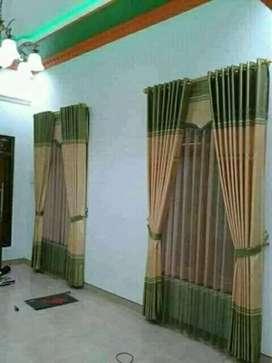 Gordyn minimalis dan wallpaper siap survey kelokasi