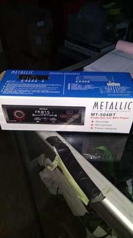 Metallic usb bluetooth aux radio, menu touchscren # HD Audio Jogja