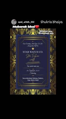 Star faishon world     need sales girl