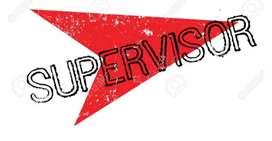 Supervisor job available