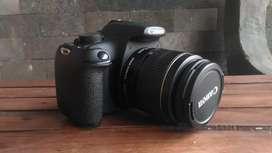 Canon eos 1200D kit 18-55mm is2 lengkap mulus sehat