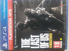 PS4 (PlayStation 4) Last of us Remastered