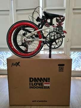 Sale.. tinggal 2 stock sepeda Lipat Damn Ilove Indonesia