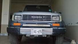 Toyota prado model 1994 impoted 2010 Medel SX silver