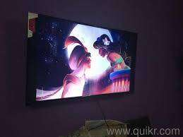 "brand new sony panel 43"" android smart led with 4k"