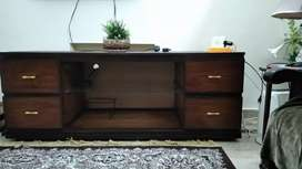 TV Trolley and Decoration Console