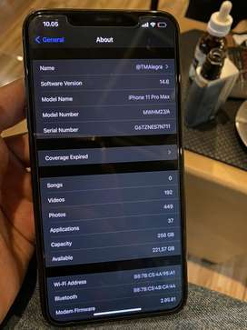 Iphone 11 pro max 256gb J/P fullset full ori