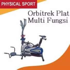 sepeda statis kardio fitnes I-7655 // treadmill magnetik bike orbitrek