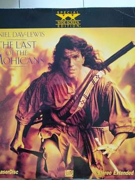 Laser Disc  The Last of the Mohicans