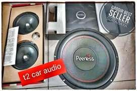 Paket audio PEERLESS DENMARK mumer komplit bonus led cosmetik