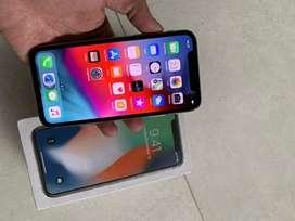 iPhone X 256 Gb Silver Inter Ori Normal Mal Semua Tanpa Minus