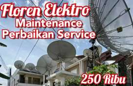 Sedia Paket Lengkap Pasang Baru & Service Antena Parabola Palmerah SNI