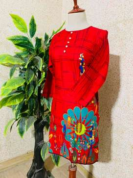 Italian Designed and Colour Full Branded Ladies Lawn Kurties of MERCY