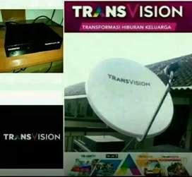 Pemasangan Transvision HD resmi Lombok promo 6 bulan cuma rp420k