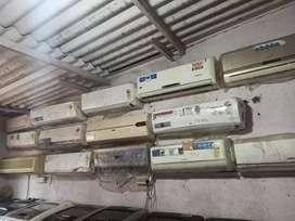 Good warranty 1 year delivery free Mumbai window ac// split ac