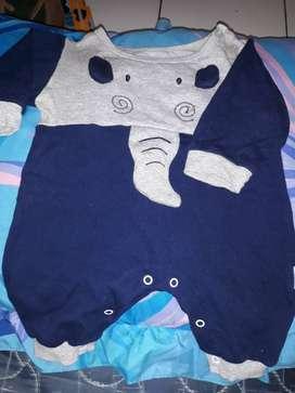 Baju bayi 100% cotton