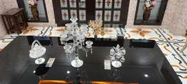 Dining Table  with Center  table