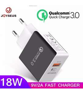 JOYSEUS T5 QC3.0 fast charger 18W
