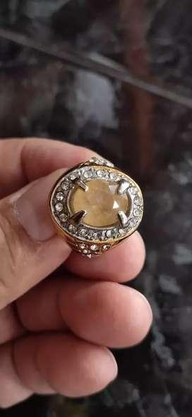 Natural Yellow Sapphire Corundum