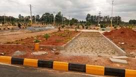 Gated Community BMRDA Approved Plots for Sale Pruthvi Paradise, Jigani