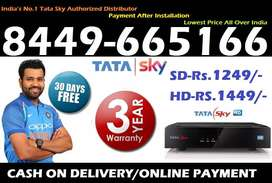 Buy Now! New Tata Sky DTH - Dish TV Airtel Dishtv Tatasky Videcon D2H