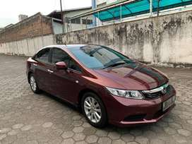 All new Civic FB 1.8 Matic thn 2012 R tangan 1 km 60rb