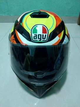 Helm AGV K-3 SV XL Valentino Rossi 46 Ducati Second