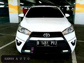 TOYOTA YARIS S TRD 1.5 AT 2016 km. 39rb Record