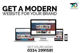 Website design services , website development services