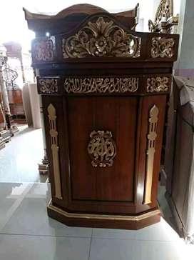 mimbar masjid mushola baru