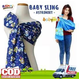 Gendongan bayi samping - gendongan bayi murah - gendong bayi motif