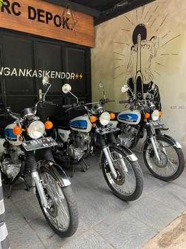 Honda CB 100 Original Look
