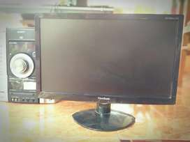 LED monitor Viewsonic 19 in wide