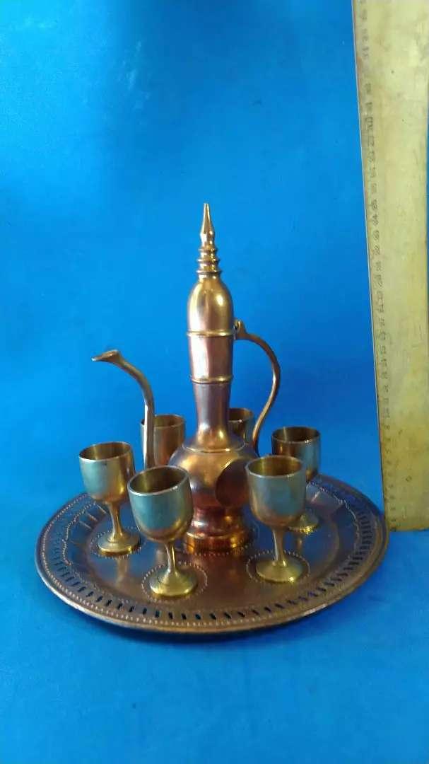 teaset kuningan arabian jadul vintage antik lawas kuno rare langka 0