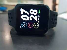 Smart watch F8 available in black gray color