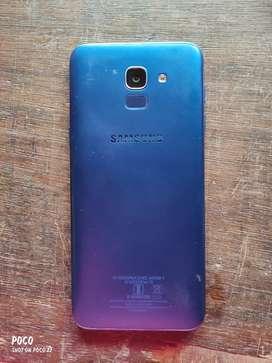 Samsung galaxy J6 model 3gb ram and 32 gb internal storage
