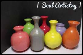 Unique miniature Terracotta pots less than 3-4 inches