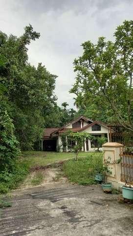 Jual Tanah dan bangunan rumah tempat tinggal